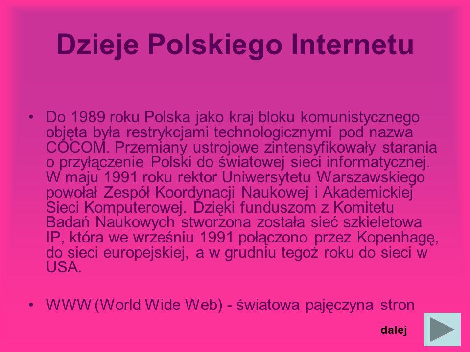 Dzieje Polskiego Internetu