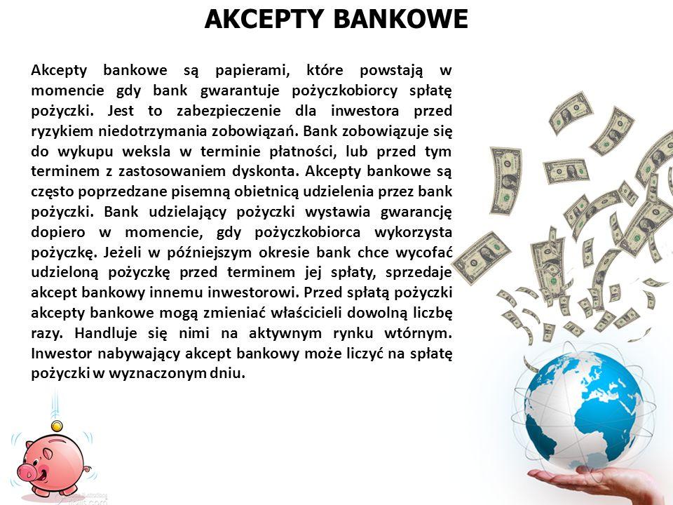 AKCEPTY BANKOWE