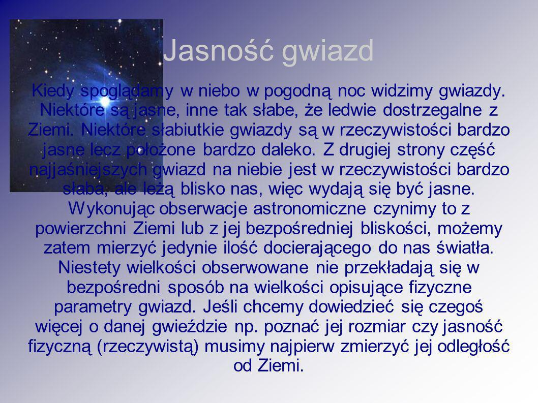 Jasność gwiazd