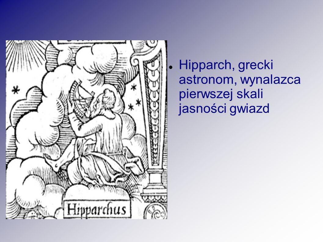 Hipparch, grecki astronom, wynalazca pierwszej skali jasności gwiazd
