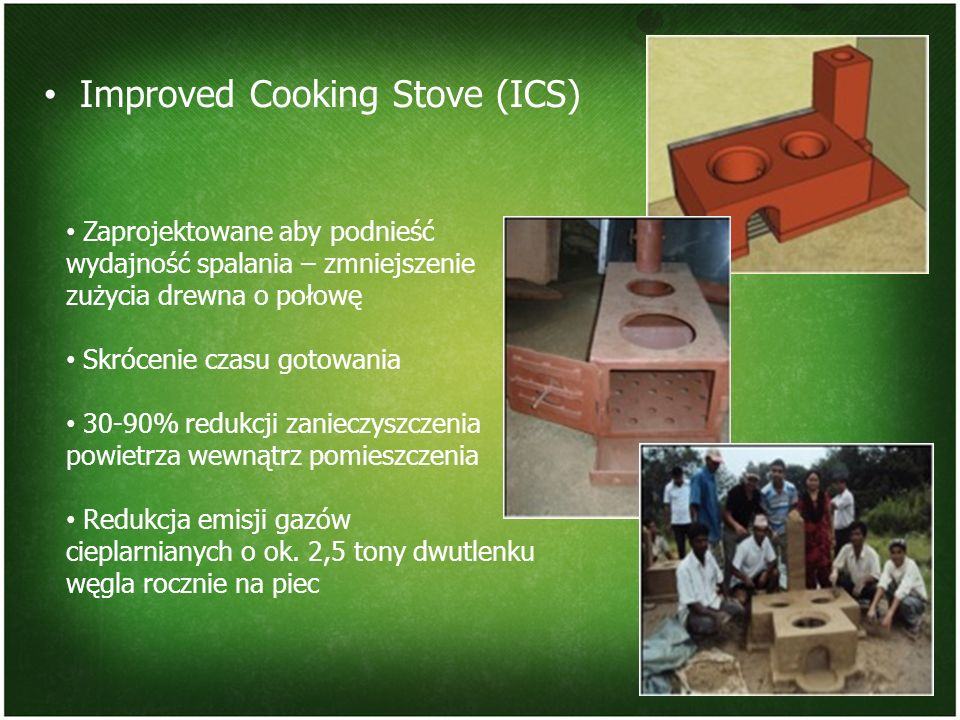 Improved Cooking Stove (ICS)