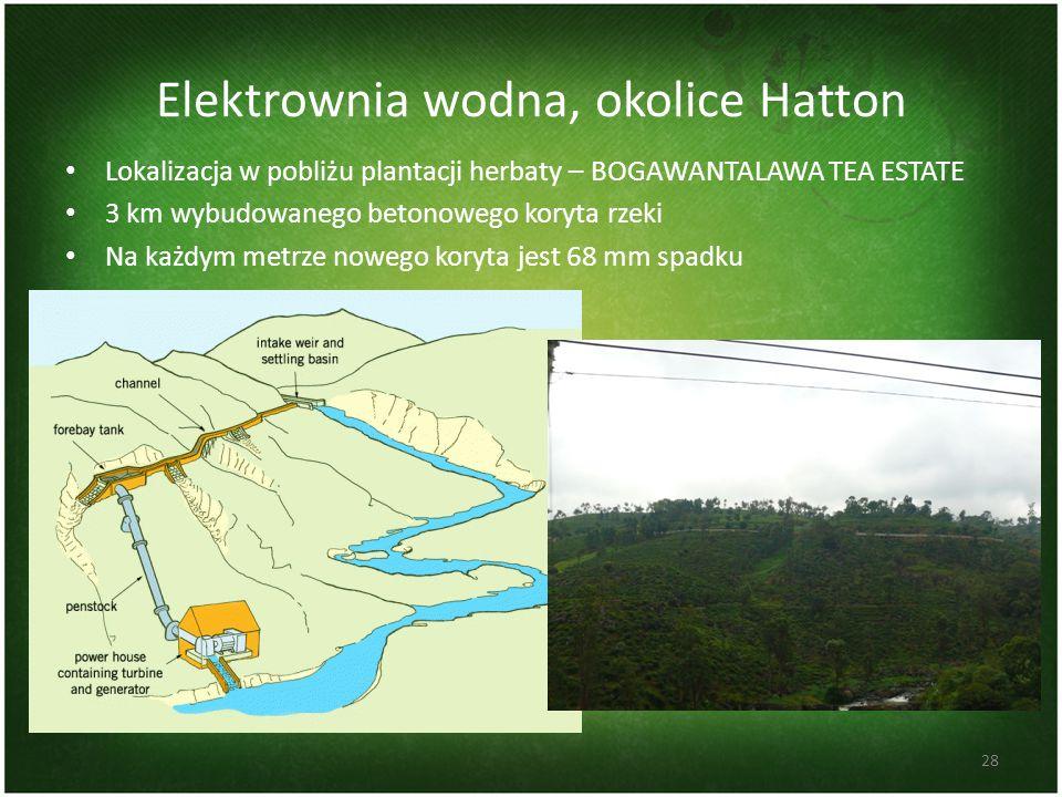 Elektrownia wodna, okolice Hatton