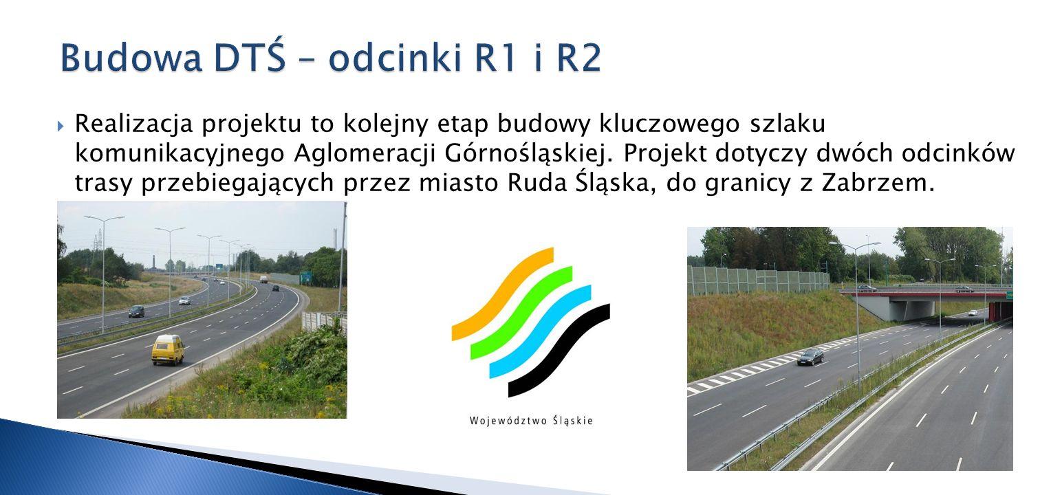 Budowa DTŚ – odcinki R1 i R2