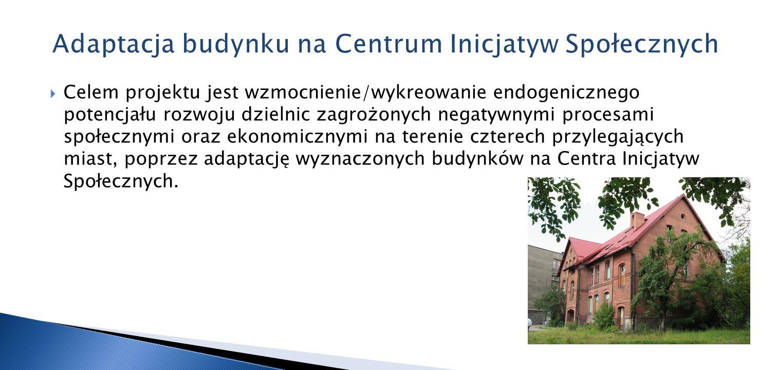 Adaptacja budynku na Centrum Inicjatyw Społecznych
