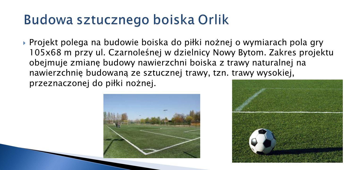 Budowa sztucznego boiska Orlik