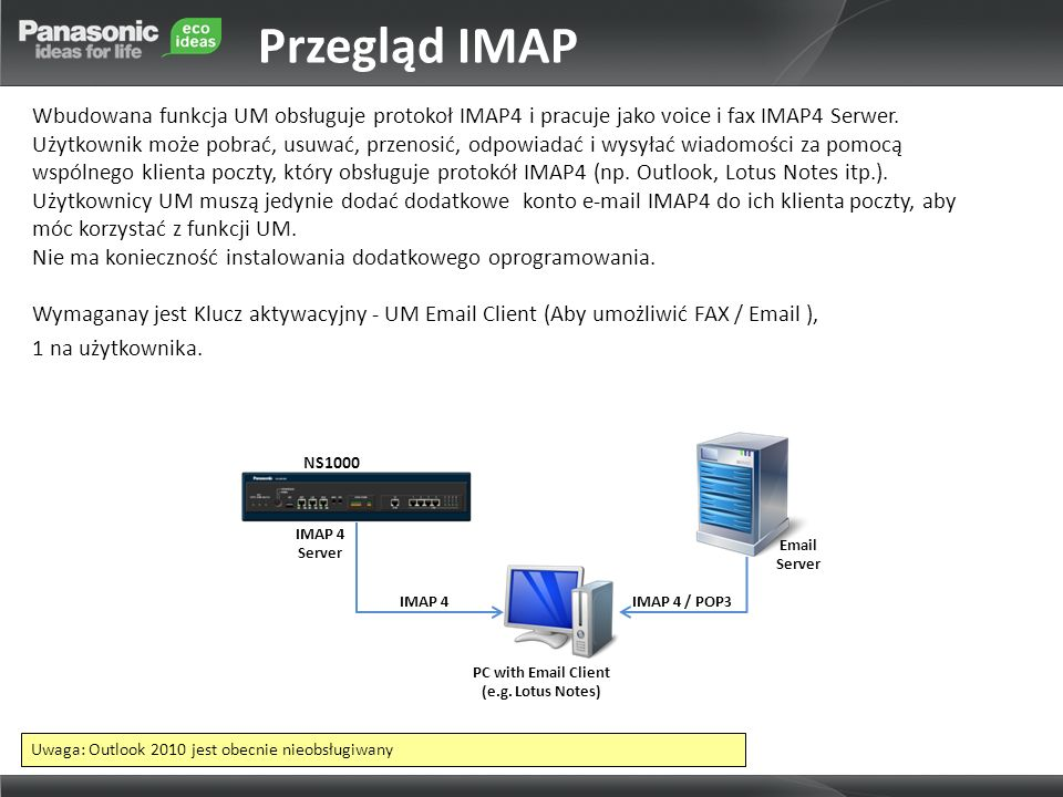 Przegląd IMAP
