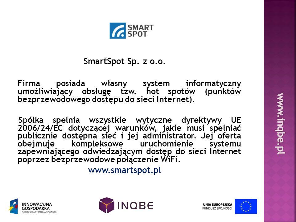 www.inqbe.pl SmartSpot Sp. z o.o.