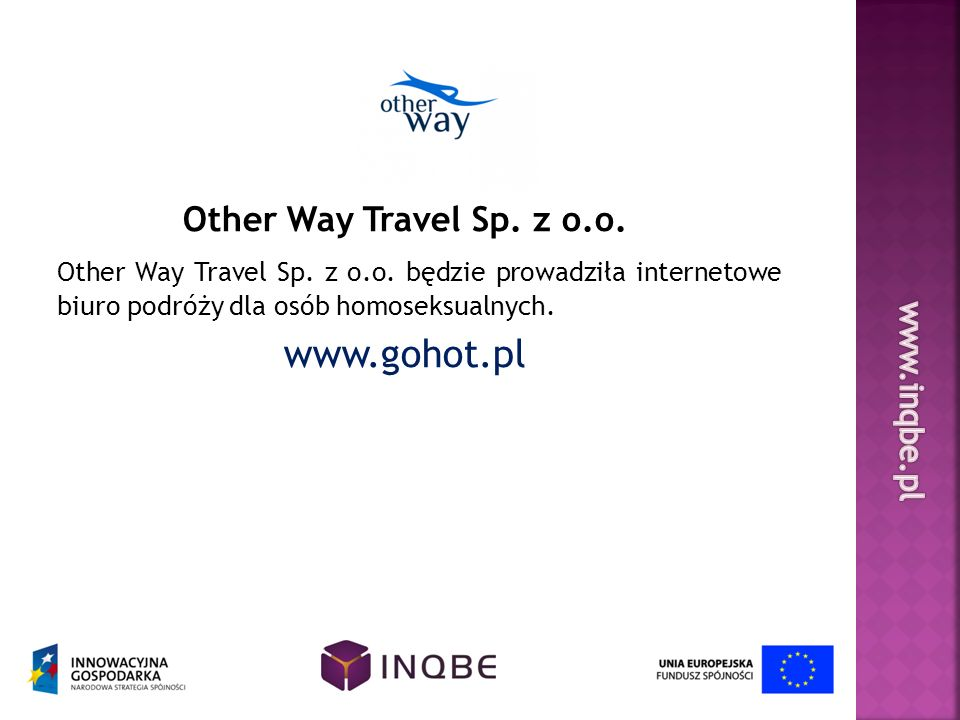 www.gohot.pl Other Way Travel Sp. z o.o.