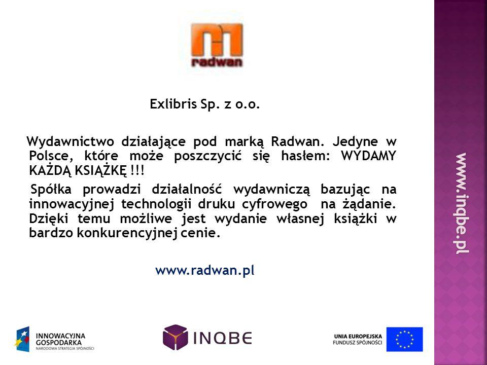 www.inqbe.pl Exlibris Sp. z o.o.