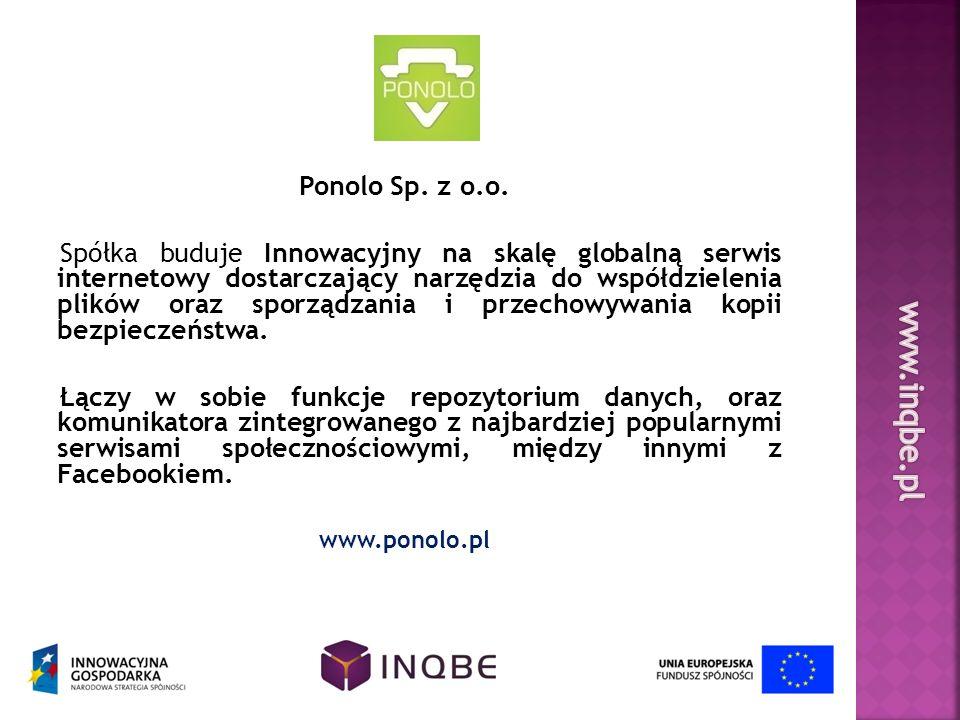 www.inqbe.pl Ponolo Sp. z o.o.
