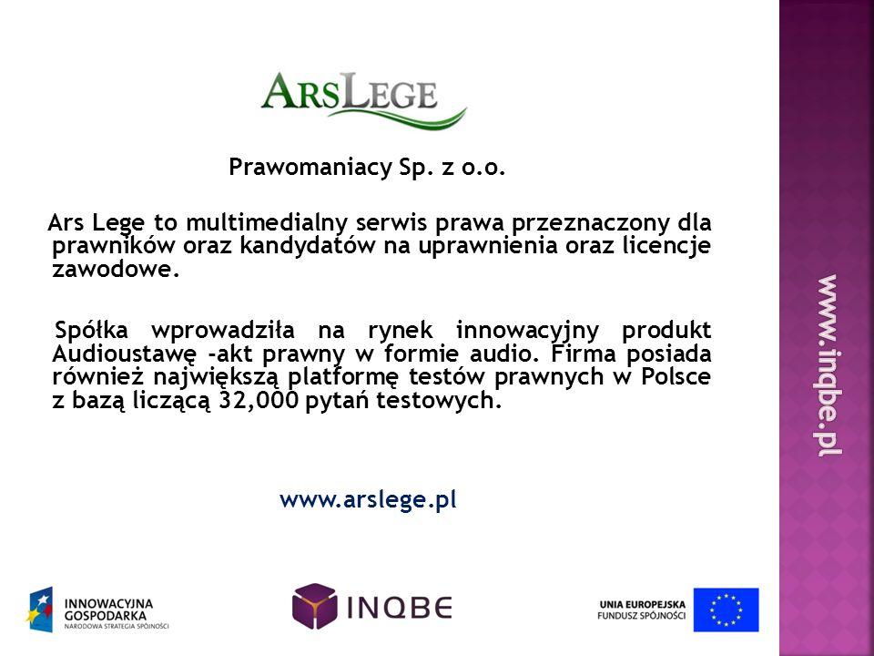 www.inqbe.pl Prawomaniacy Sp. z o.o.