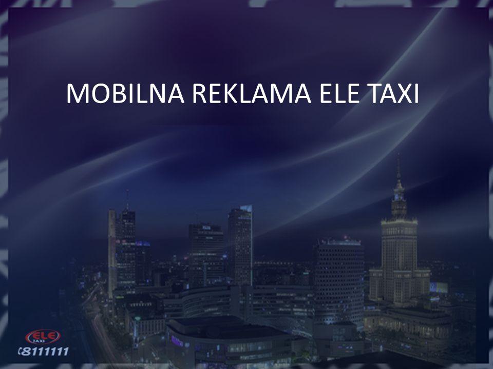MOBILNA REKLAMA ELE TAXI