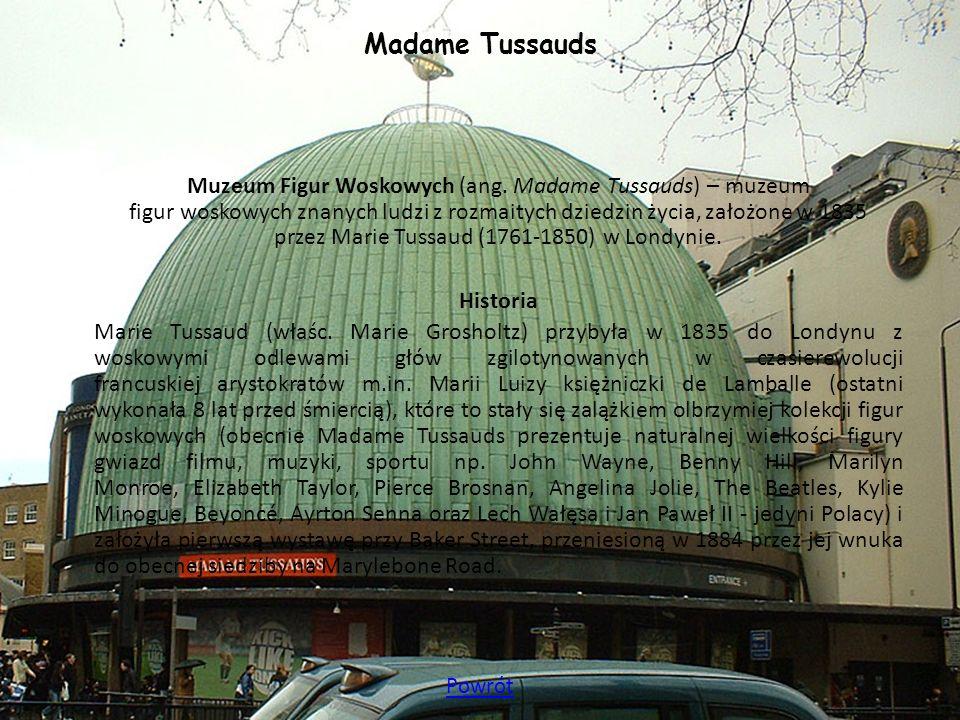 Madame Tussauds Historia