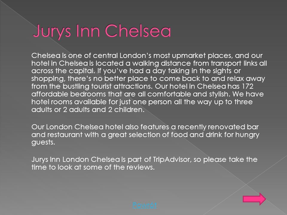 Jurys Inn Chelsea
