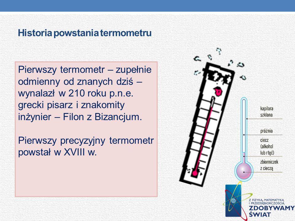 Historia powstania termometru