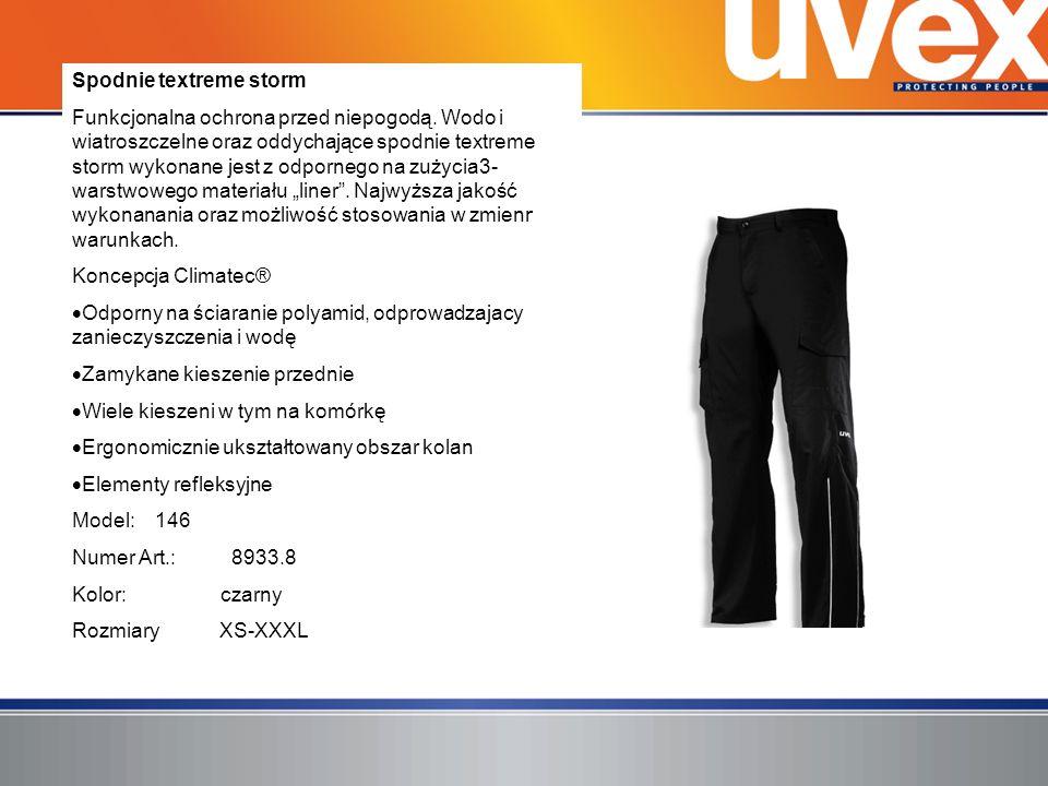 Spodnie textreme storm