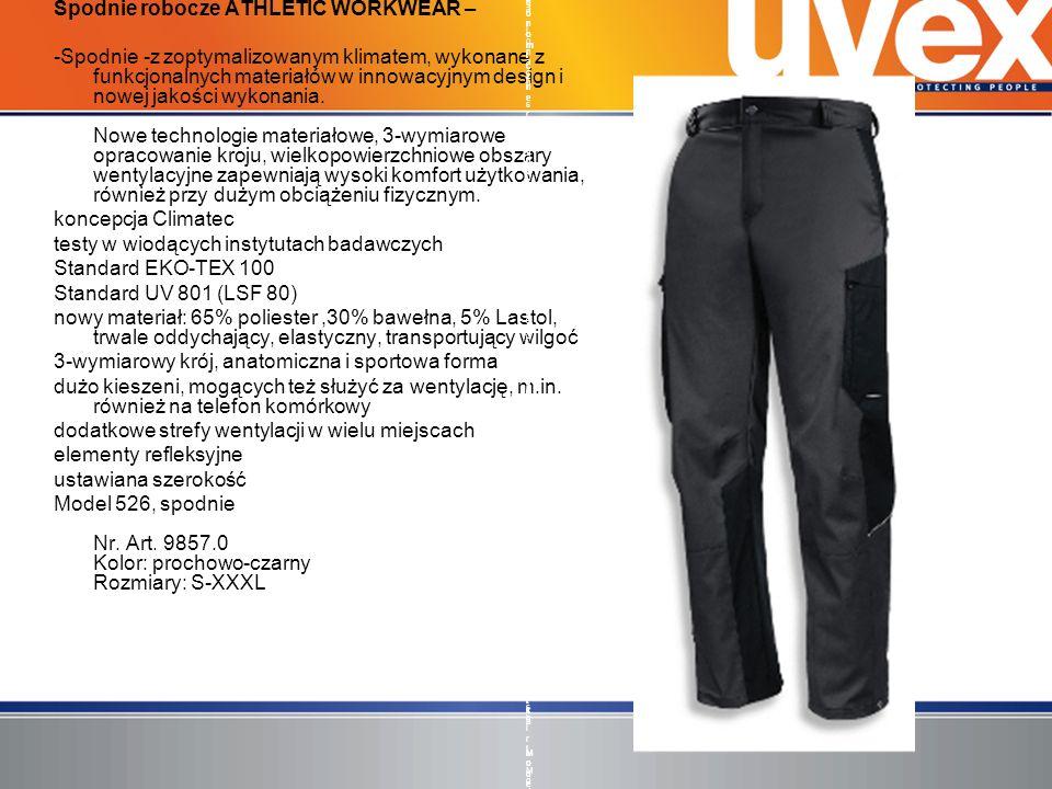 Spodnie robocze ATHLETIC WORKWEAR –
