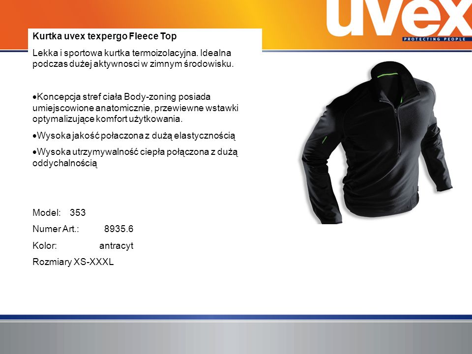 Kurtka uvex texpergo Fleece Top