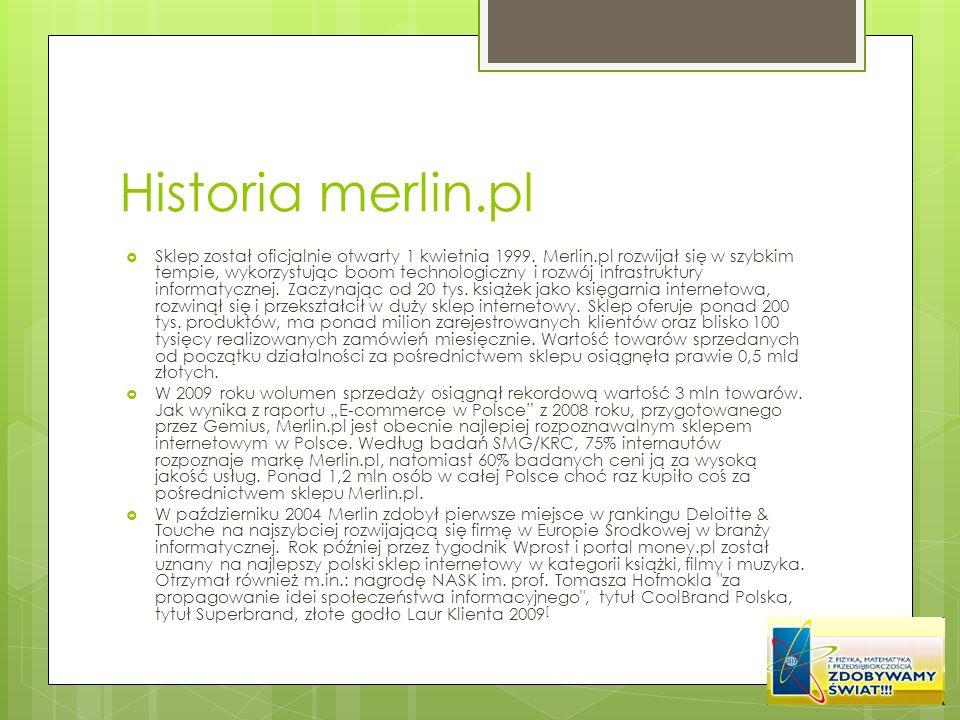 Historia merlin.pl