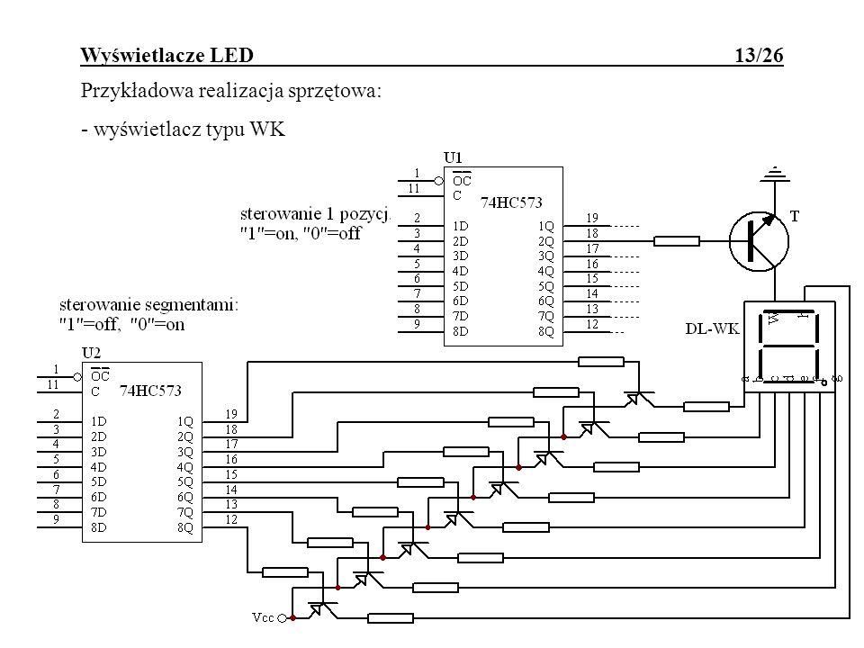 Wyświetlacze LED 13/26