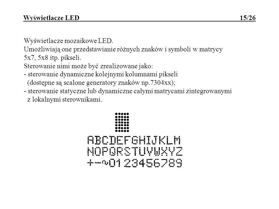 Wyświetlacze LED 15/26