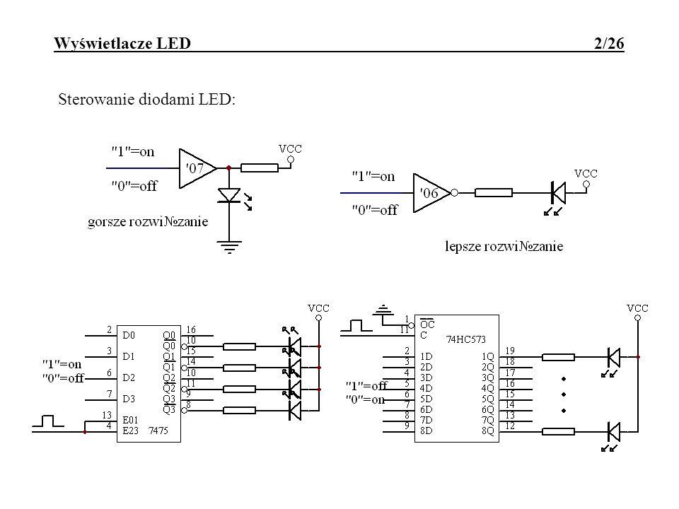 Wyświetlacze LED 2/26