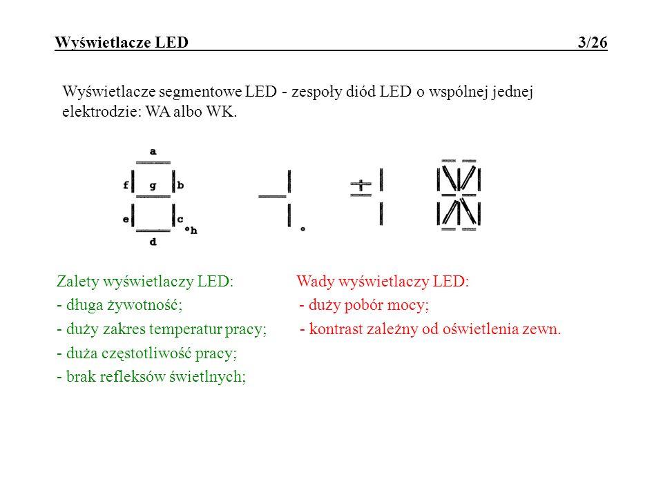 Wyświetlacze LED 3/26