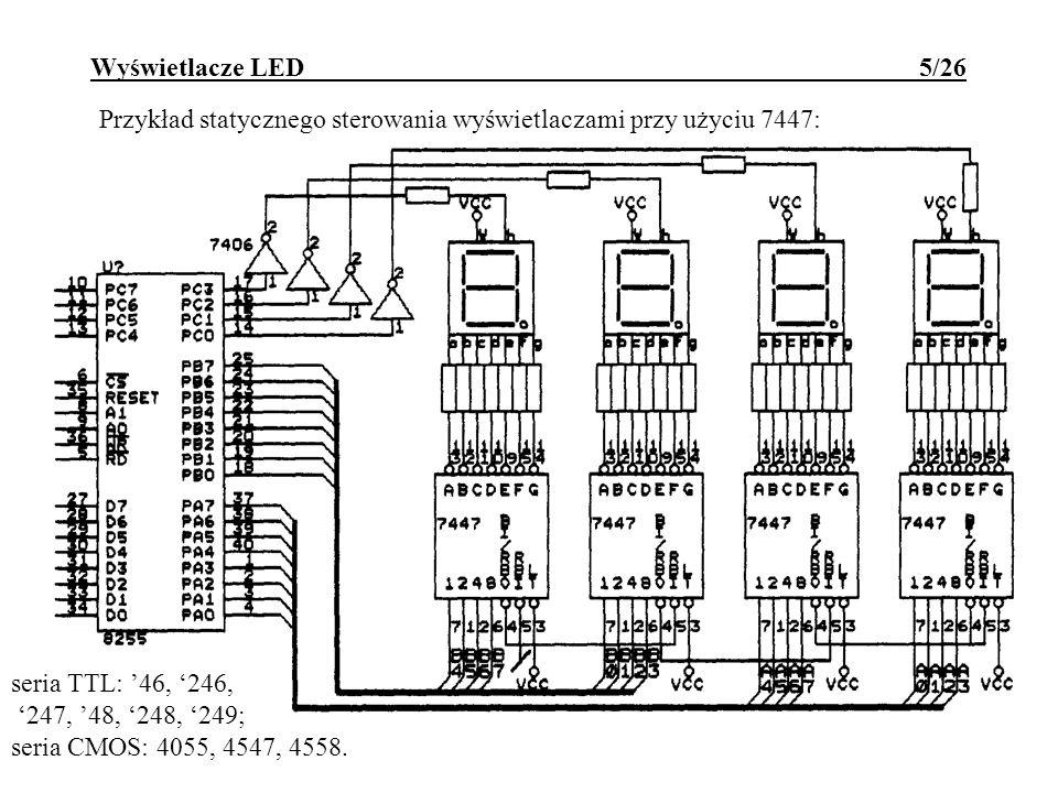 Wyświetlacze LED 5/26