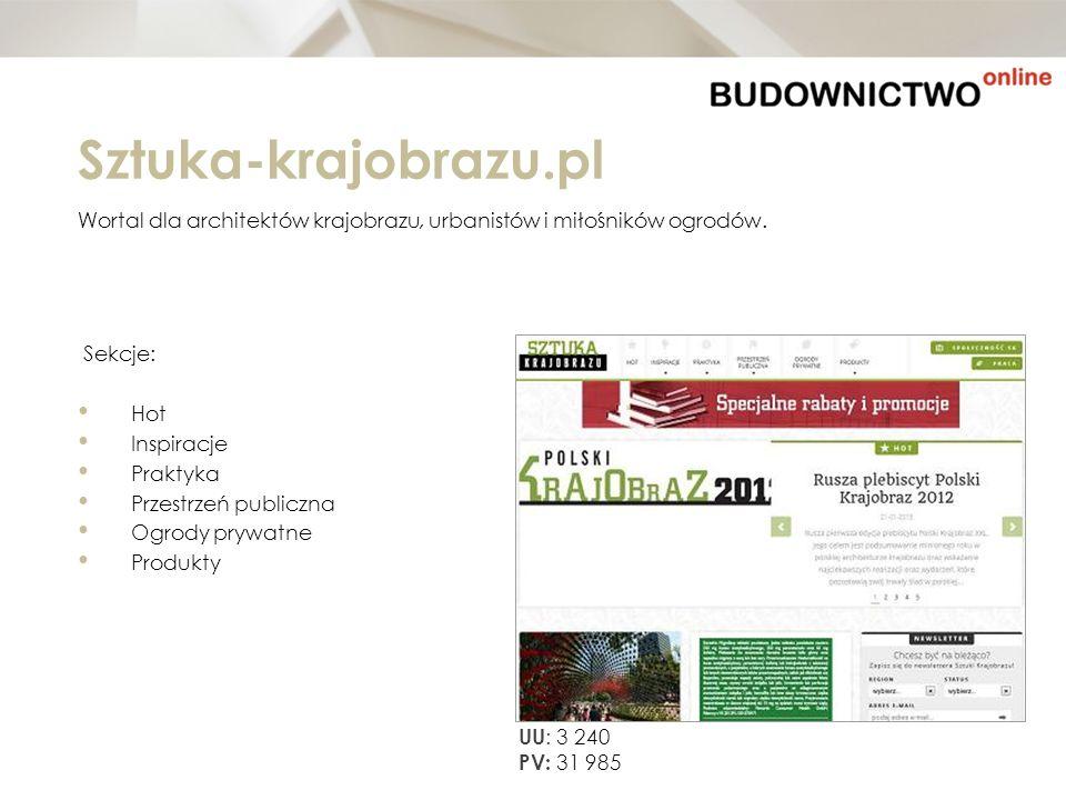 Sztuka-krajobrazu.pl Wortal dla architektów krajobrazu, urbanistów i miłośników ogrodów. Sekcje: Hot.