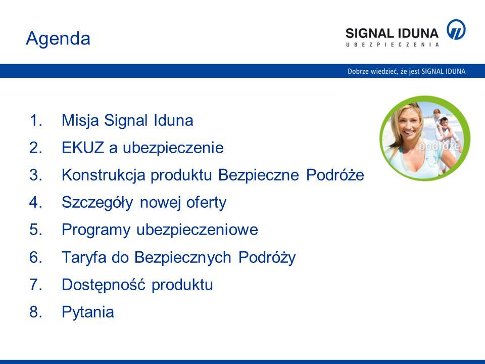 Agenda Misja Signal Iduna EKUZ a ubezpieczenie