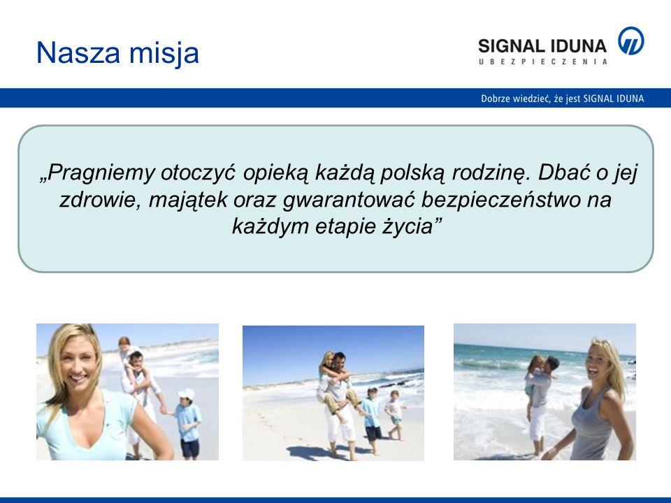 """Nasza misja """"Pragniemy otoczyć opieką każdą polską rodzinę."""