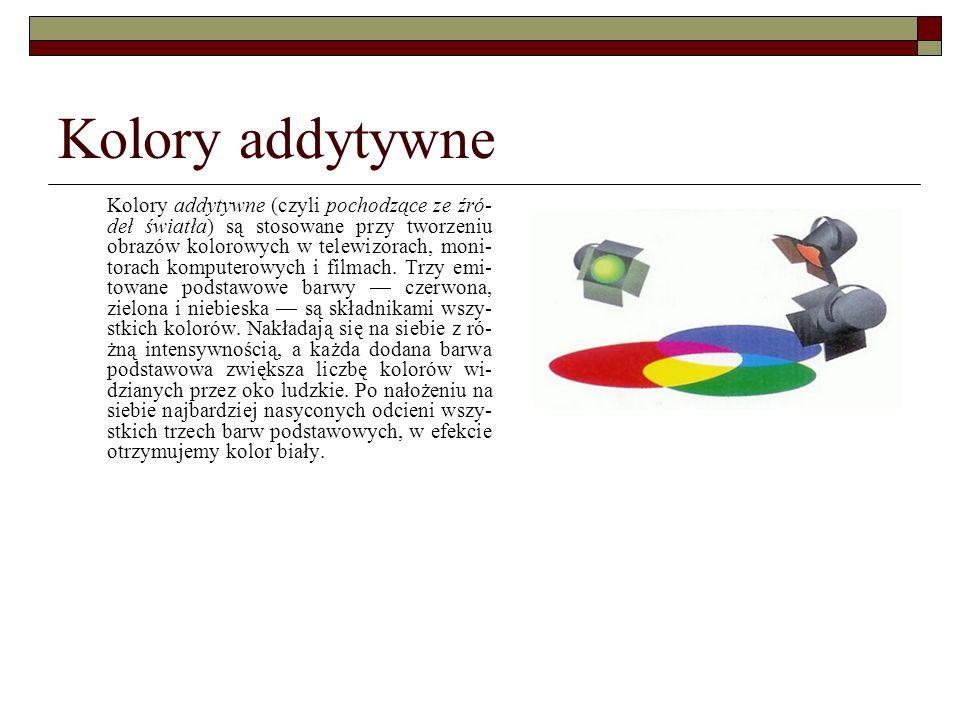 Kolory addytywne