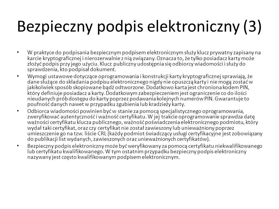 Bezpieczny podpis elektroniczny (3)