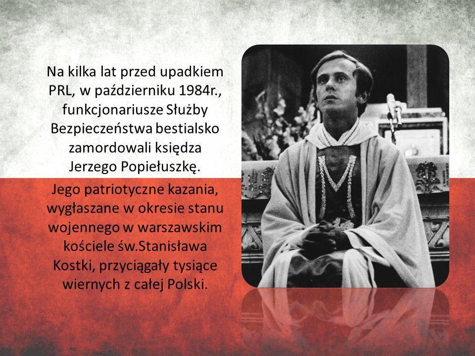 Na kilka lat przed upadkiem PRL, w październiku 1984r