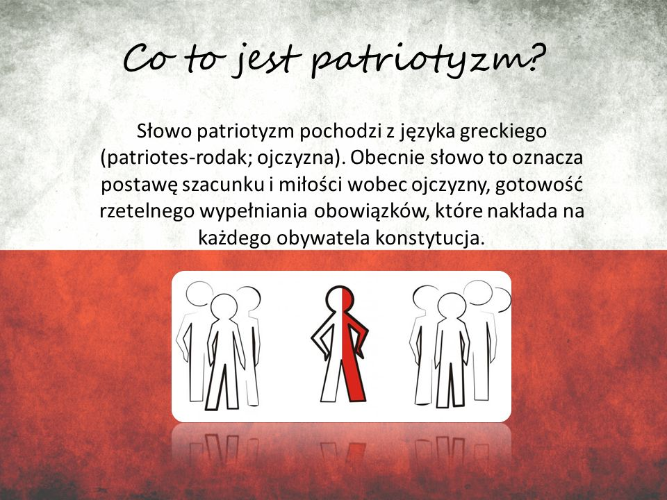 Co to jest patriotyzm