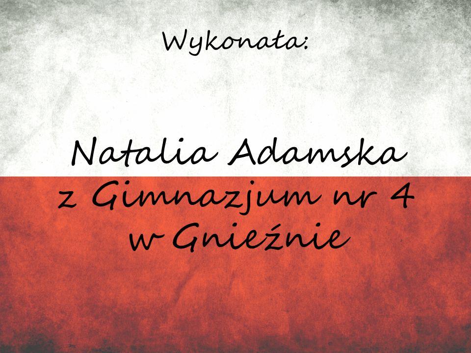 Natalia Adamska z Gimnazjum nr 4 w Gnieźnie