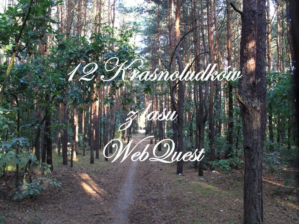 12 Krasnoludków z lasu WebQuest