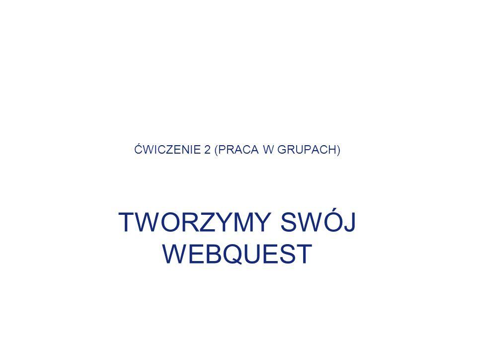 ĆWICZENIE 2 (PRACA W GRUPACH)