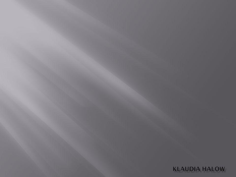 KLAUDIA HALOW