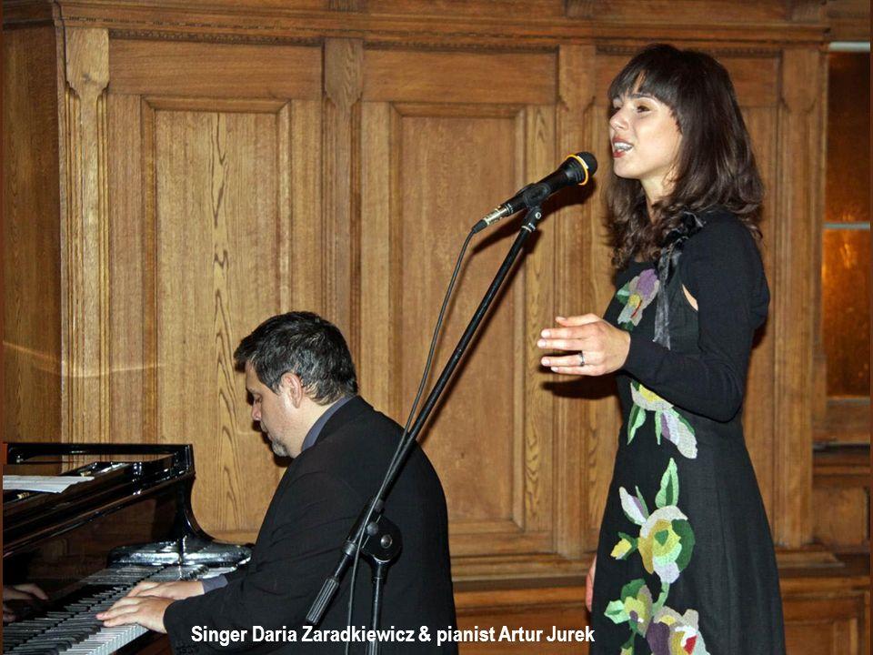 Singer Daria Zaradkiewicz & pianist Artur Jurek