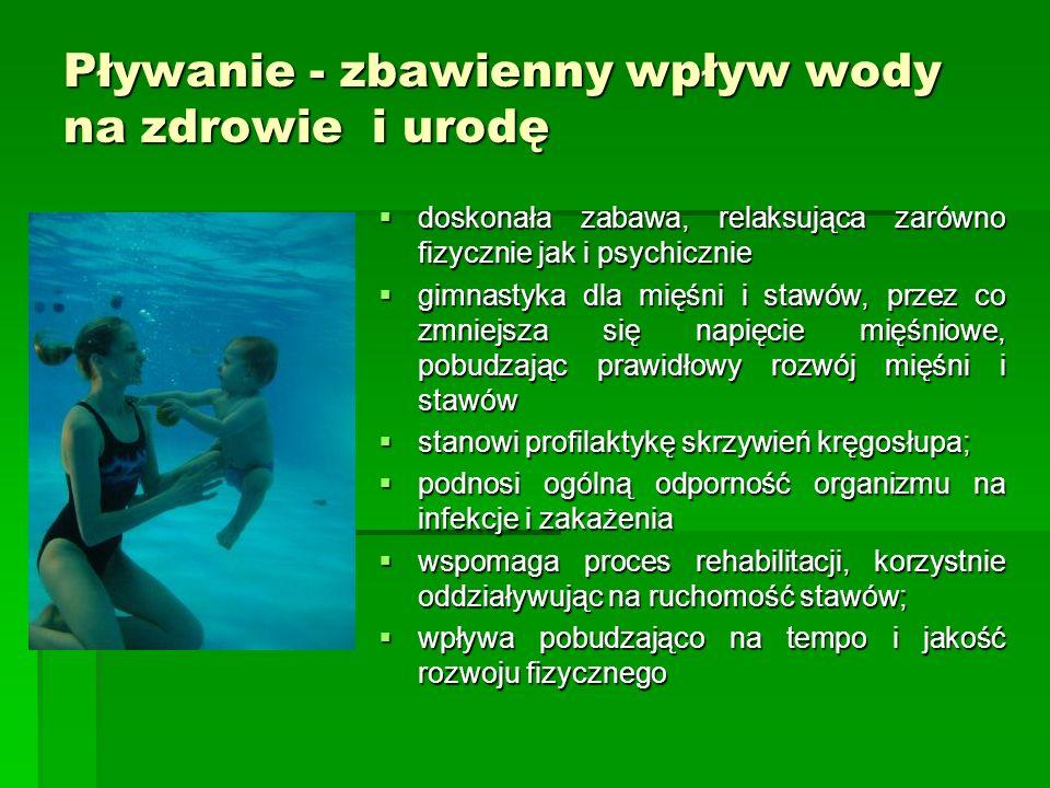 Pływanie - zbawienny wpływ wody na zdrowie i urodę