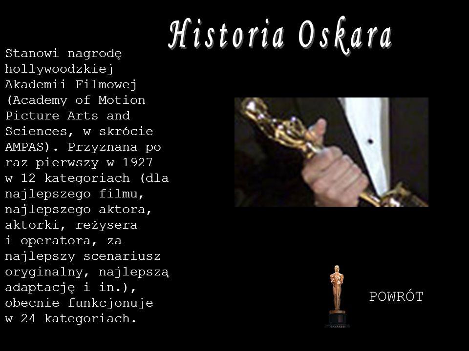 Historia Oskara POWRÓT