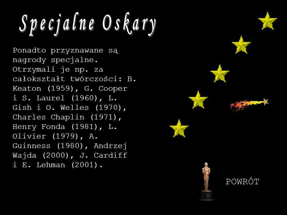 Specjalne Oskary POWRÓT