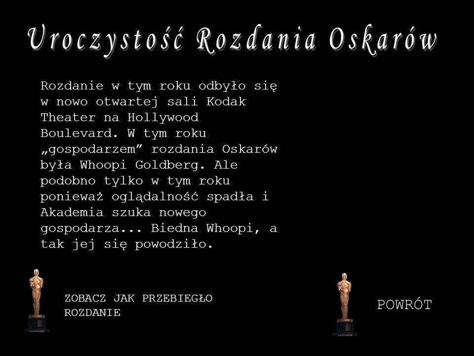 Uroczystość Rozdania Oskarów