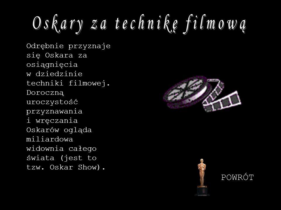 Oskary za technikę filmową