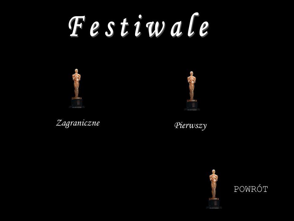 Festiwale Zagraniczne Pierwszy POWRÓT