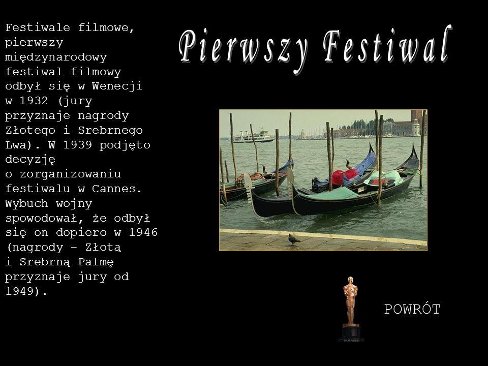 Pierwszy Festiwal POWRÓT