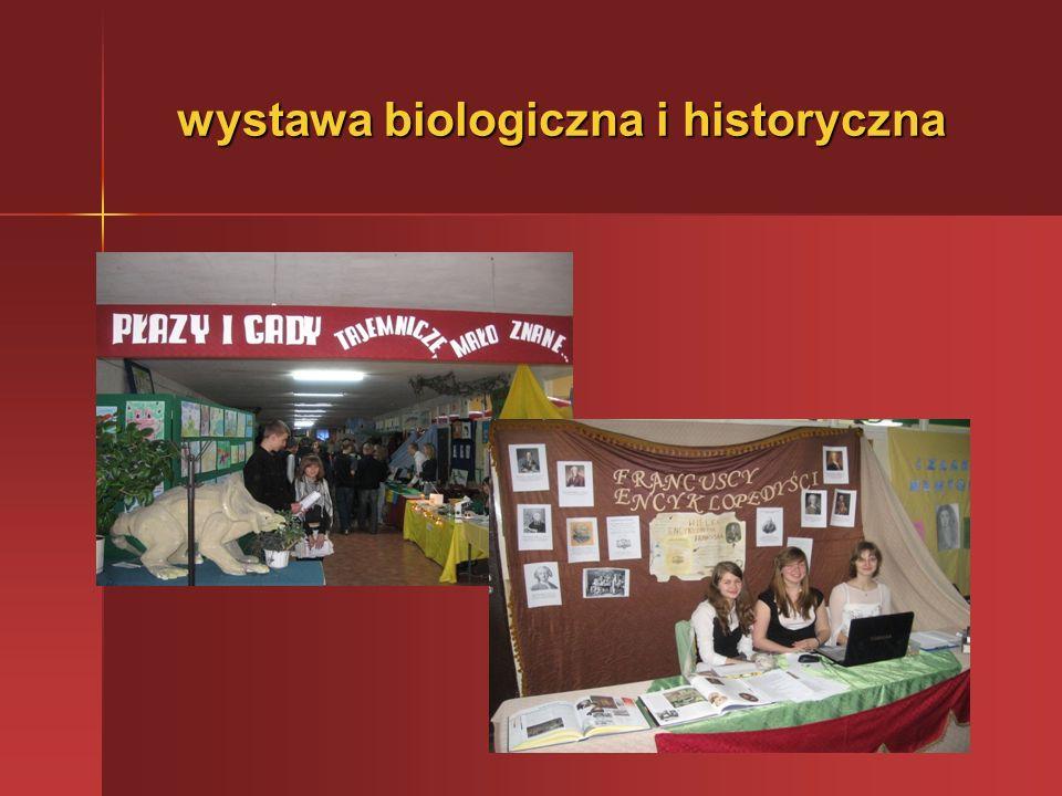 wystawa biologiczna i historyczna