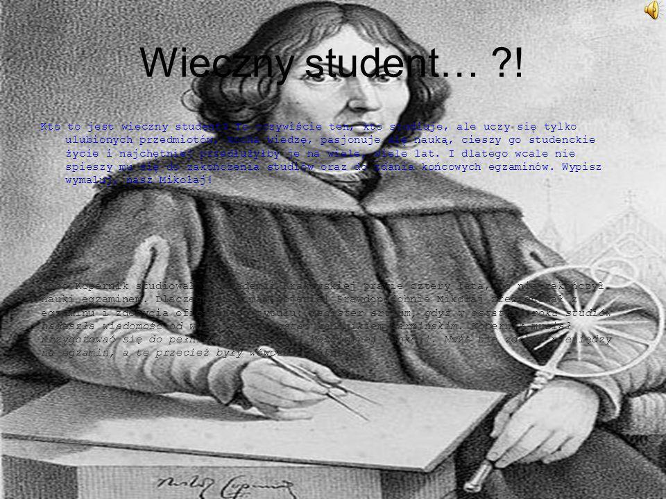 Wieczny student… !