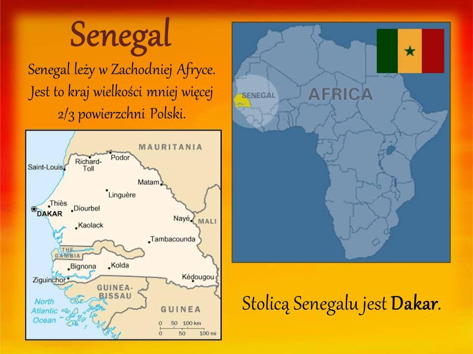 Stolicą Senegalu jest Dakar.